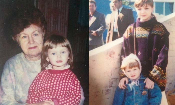 Кристина Романова в детстве