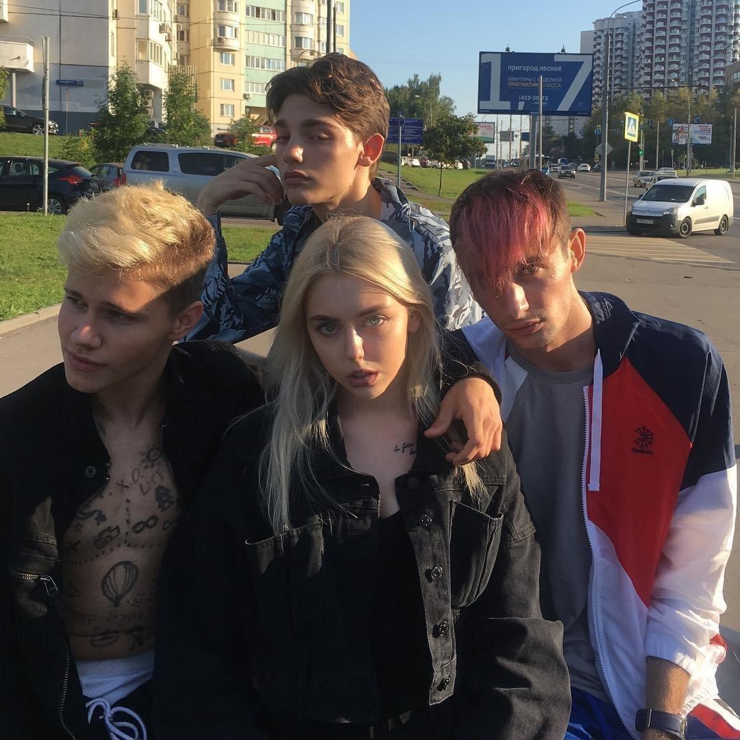 Эд Атева с друзьями