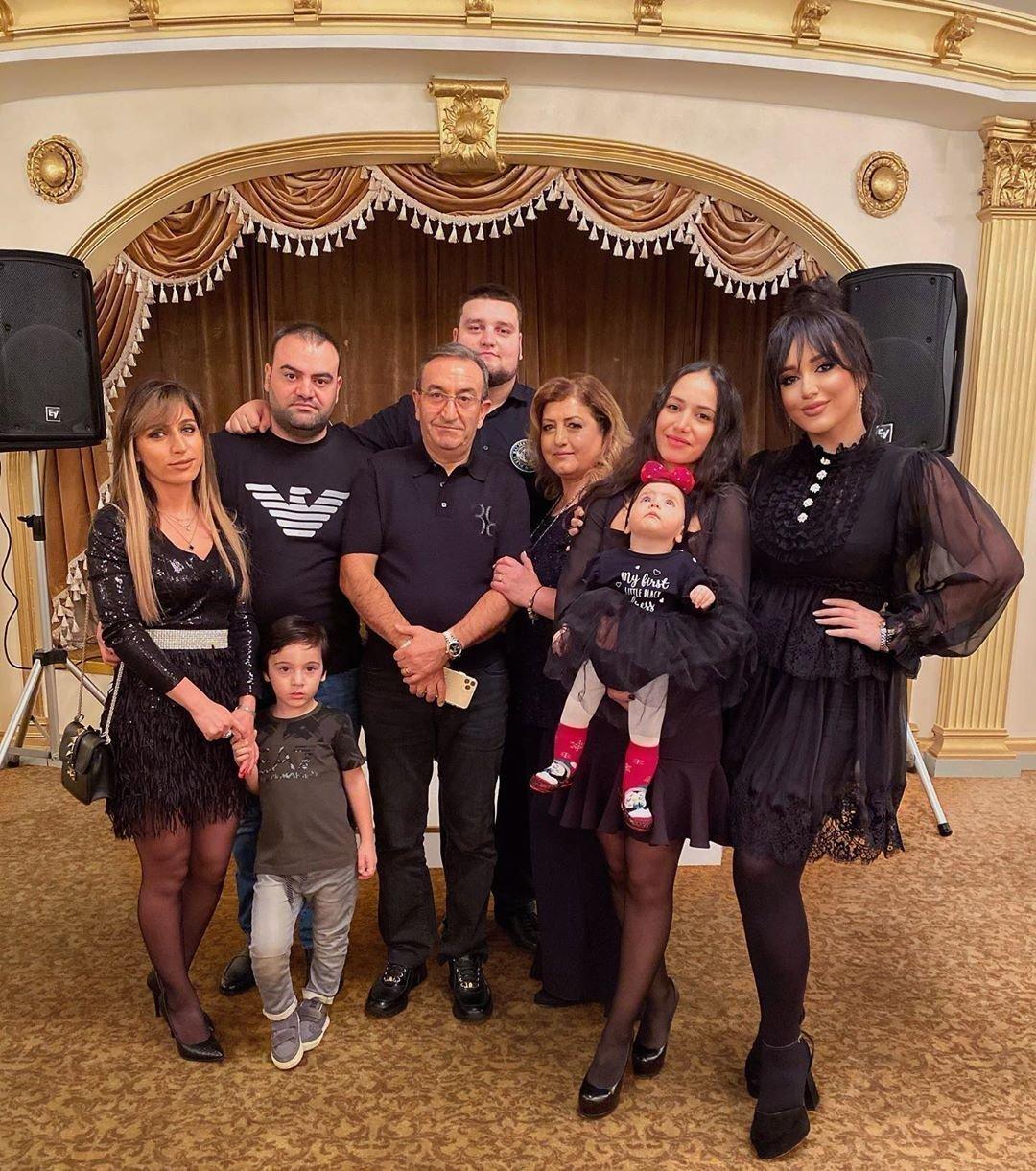 Гоар Аветисян с родными