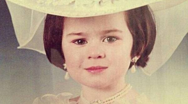 Юлия Пушман в детстве