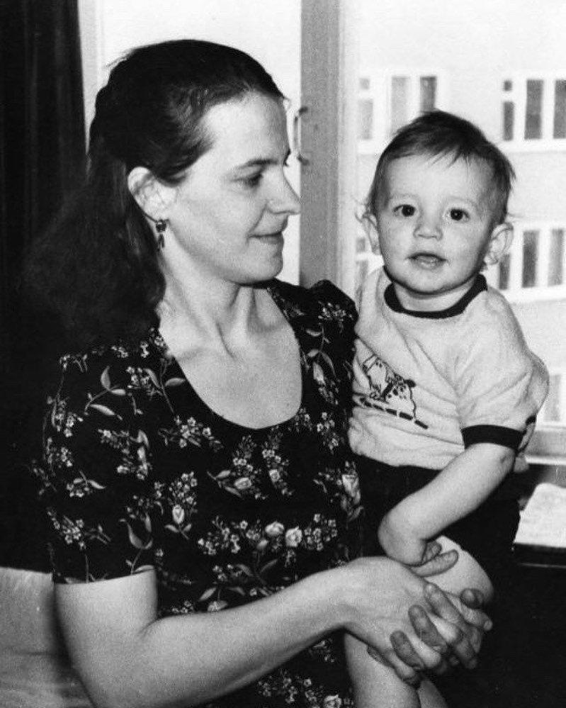 Александр Сухоруков в детстве