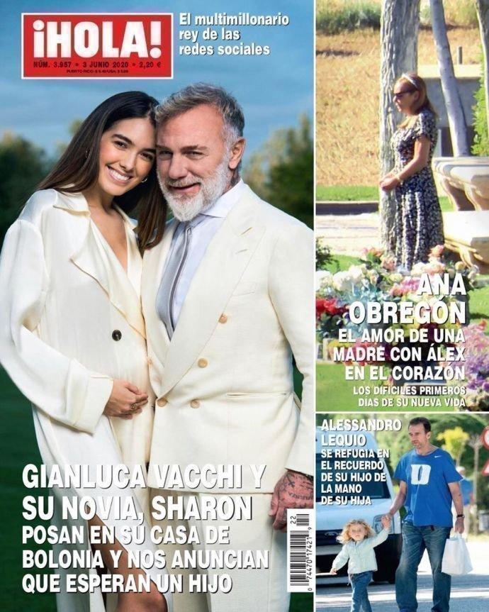 Шэрон Фонсека и Вакки на иобложке журнала iHOLA!