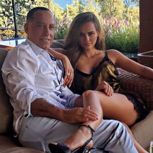 Ксения Дели со своим мужем
