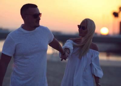 Юлия Прохорова с мужем