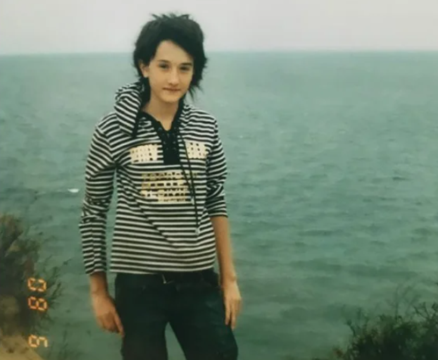 Марина Мексика в подростковом возрасте