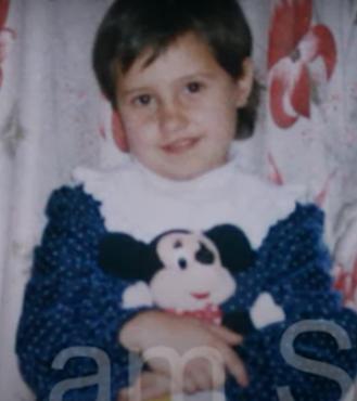 Яна Егорян в детстве