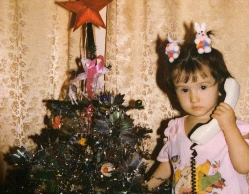 Марина Мексика в детстве