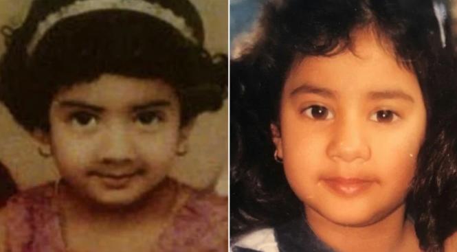 Джанви Капур в детстве