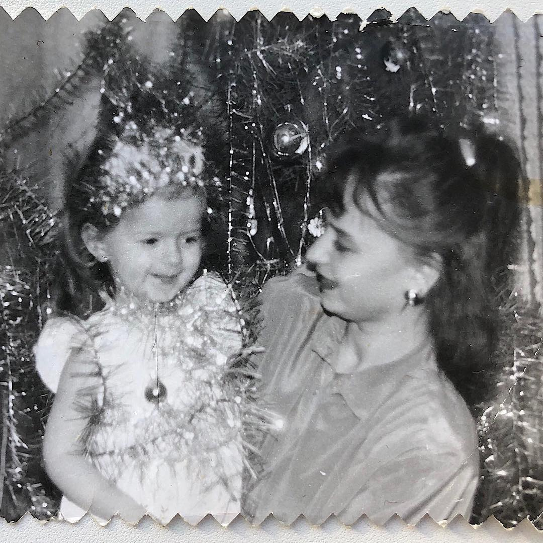 Алена Венум в детстве