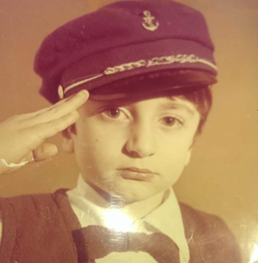 Арсен Шахунц в детстве