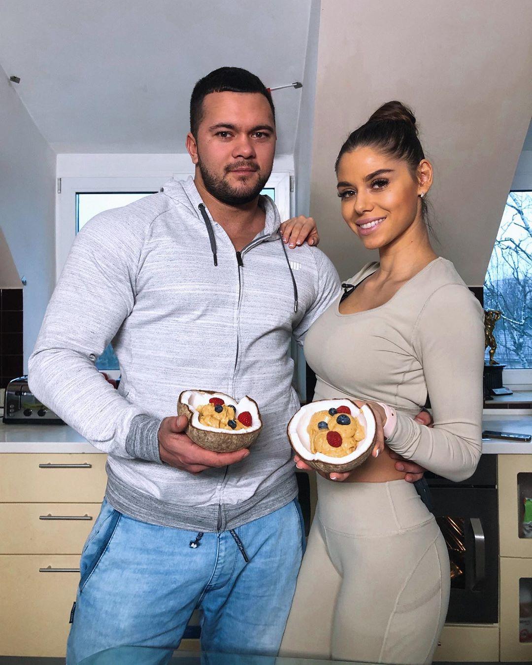 Диана Волкова и ее муж