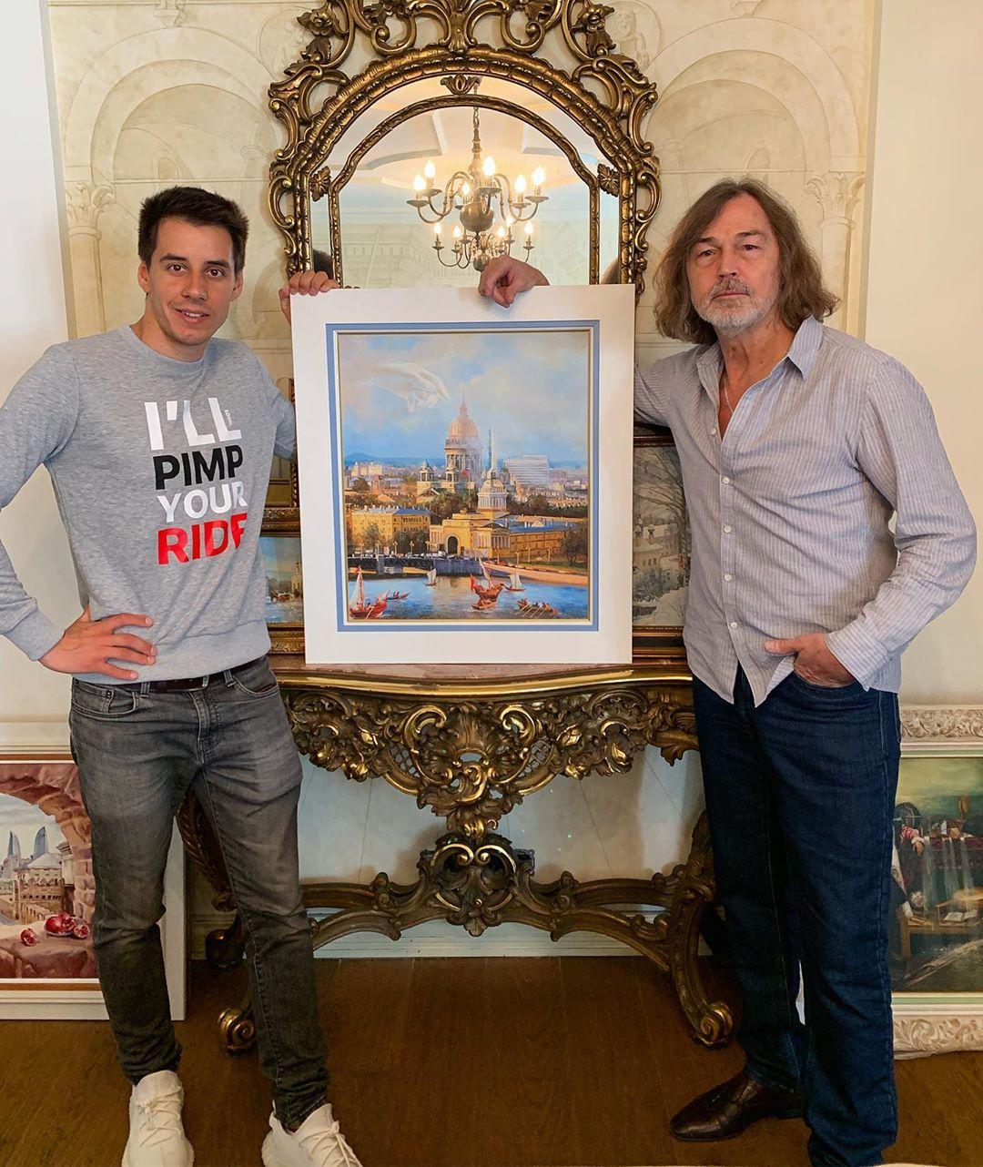 Дмитрий Гордей с Сафроновым
