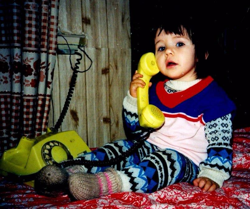 София Стужук в детстве