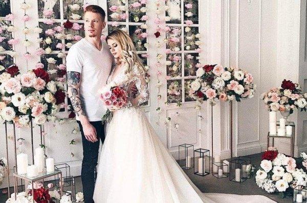Свадебное платье Алены Красновой