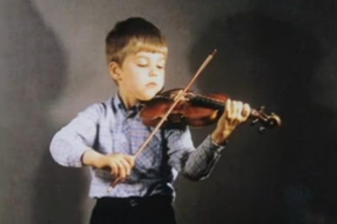Дэвид Гаррет в детстве