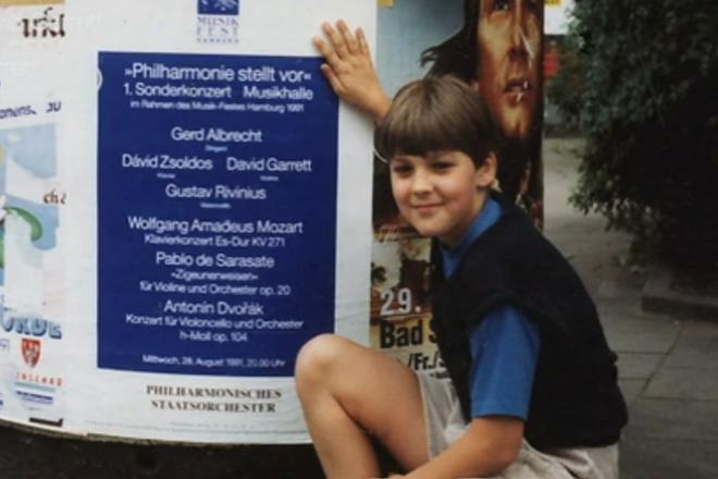 Дэвид Гарретт в детстве