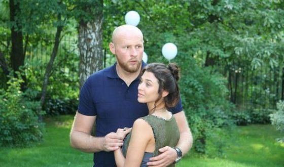 Алина Астровская и ее муж Игорь