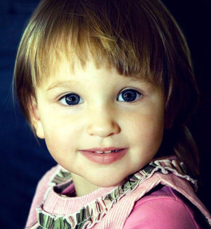 Лиза Анохина в детстве