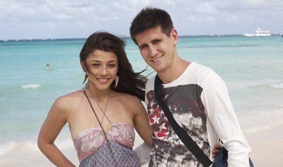 Алина Астровская и ее бывший муж Евгений Бредун