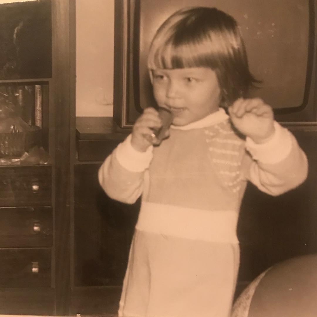 Маша Шейх, детское фото