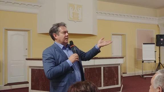 Николай Платошкин - преподаватель