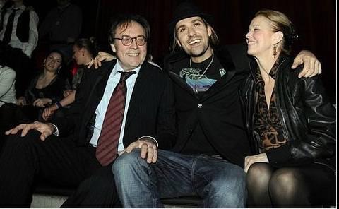 Дэвид Гарретт с родителями