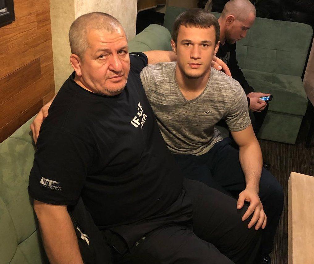 Усман Нурмагомедов с дядей Абдулманапом Нурмагомедовым