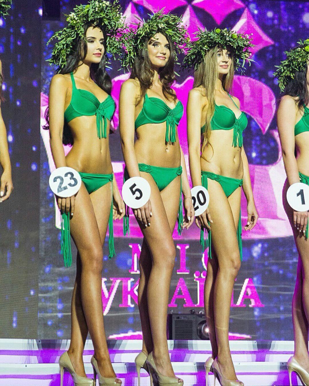 Яна Орфеева на конкурсе Мисс Украина 2015