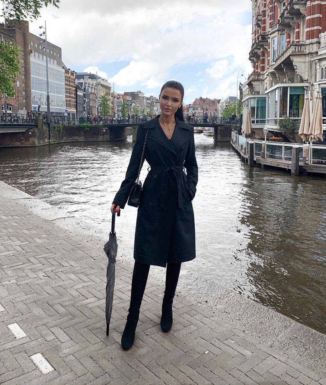 Яна Орфеева в Венеции