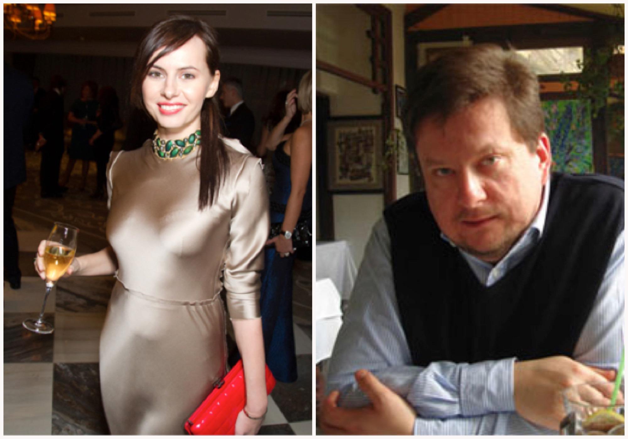 Оксана Лаврентьева и Дмитрий Комиссаров