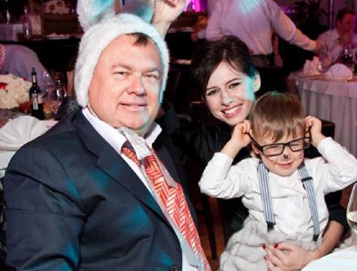Оксана Лаврентьева и Андрей Костин