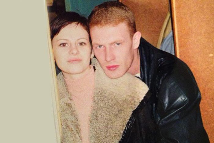 Оксана Лаврентьева и ее первый муж