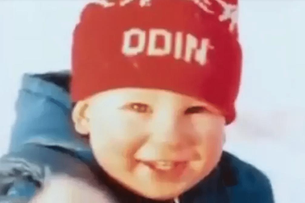 Детское фото Одина Байрона
