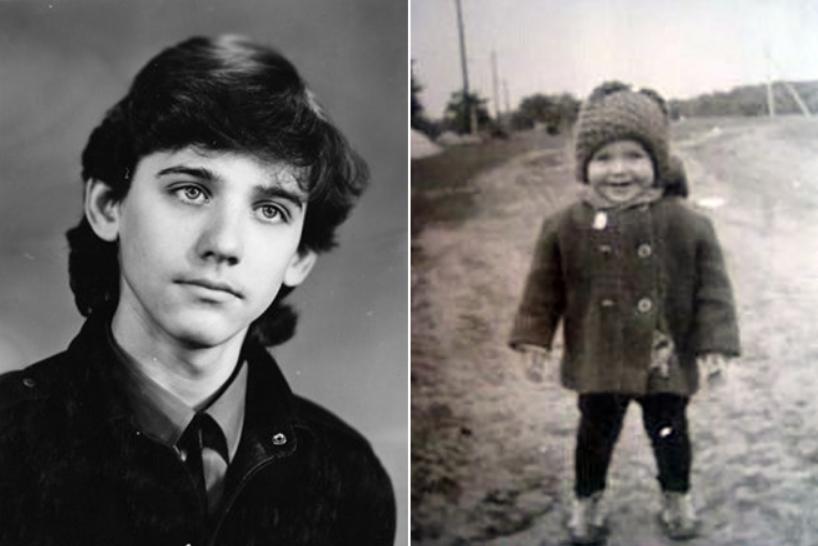 Юрий Батурин в детстве