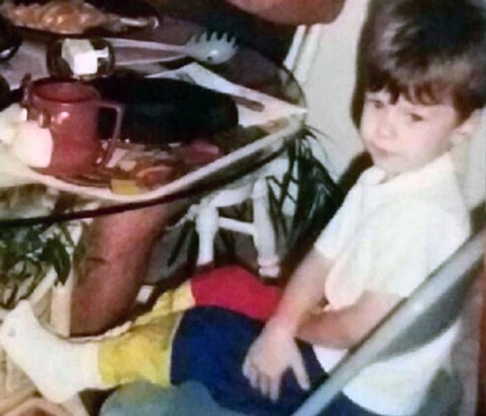 Эрик Уитни в детстве