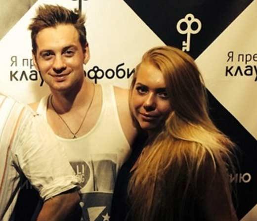 Соколовский с Кариной Лазарьянц