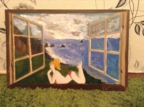 Картина Лолы Тейлор