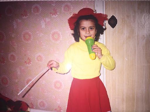 Рамина Эсхакзай в детстве