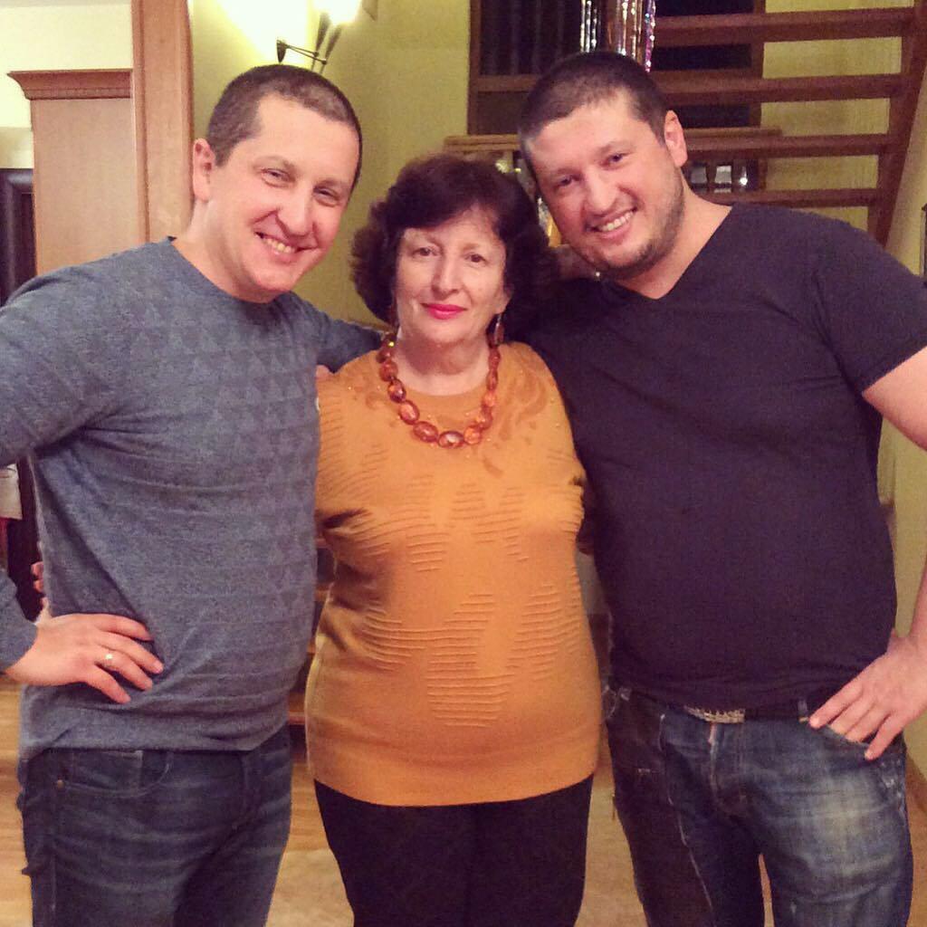 Ренат Агзамов с мамой