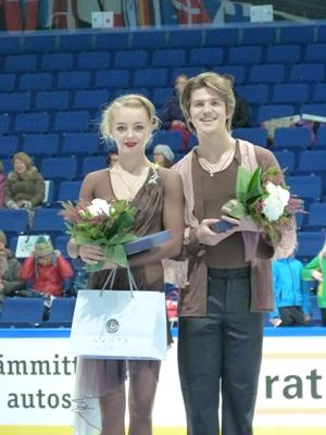 Степанова и Букин в 2014 году