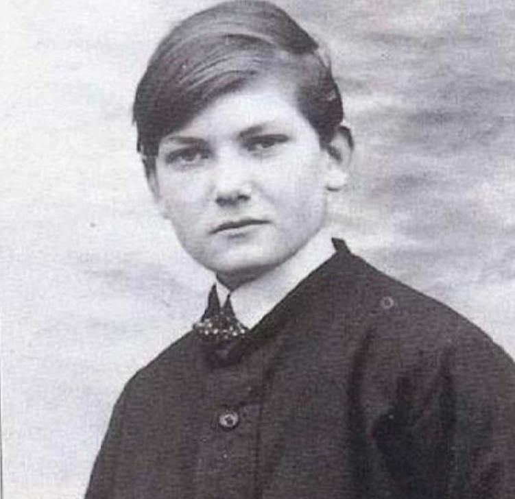 Жан Маре в юном возрасте