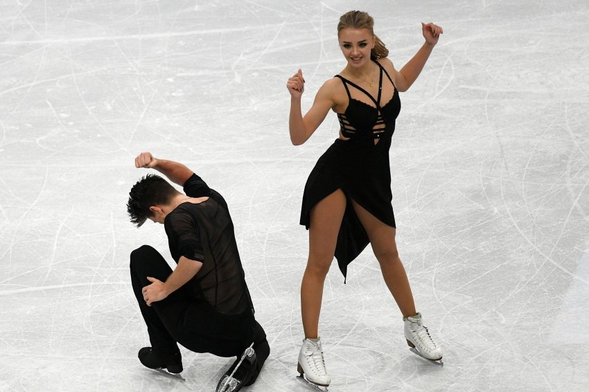 Выступление пары Степанова-Букин