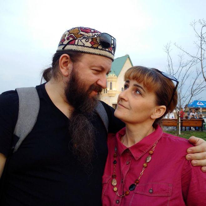 Протоирей Андрей Ткачев с женой