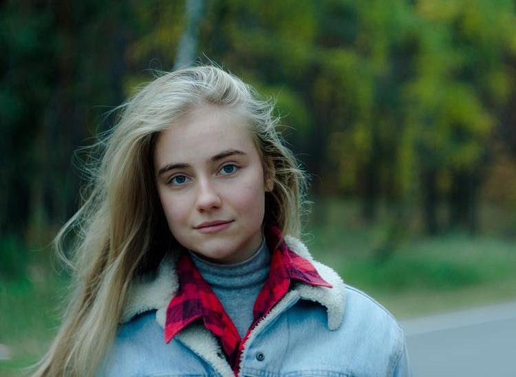 Клавдия Дрозд в 16 лет