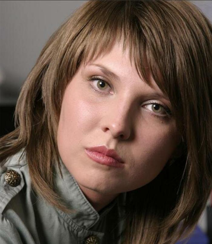 Ольга Скабеева в студенческие годы