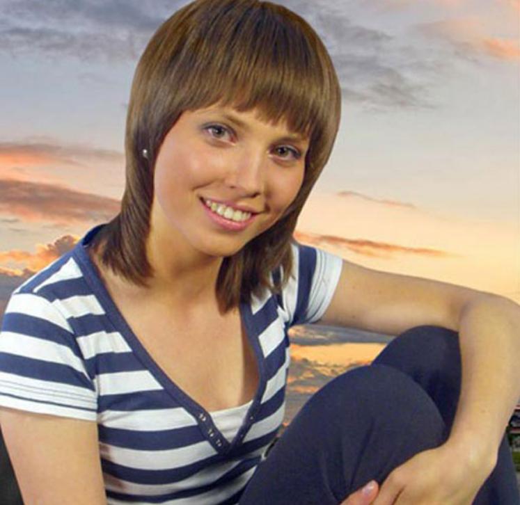 Ольга Скабеева в юности