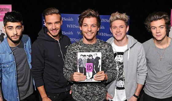 Книга One Direction называется «Where We Are»