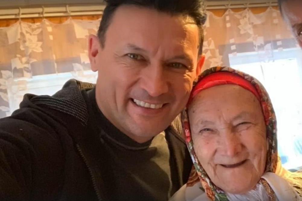 Анвар Нургалиев с мамой