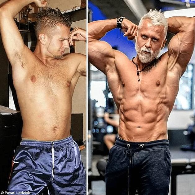 Павел Ладзиак - до и после превращения