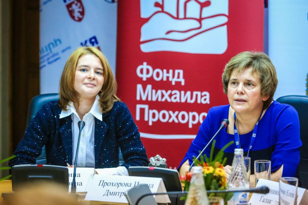 Ирина Прохоова - основатель Фонда культурных инициатив имени брата Михаила Прохорова